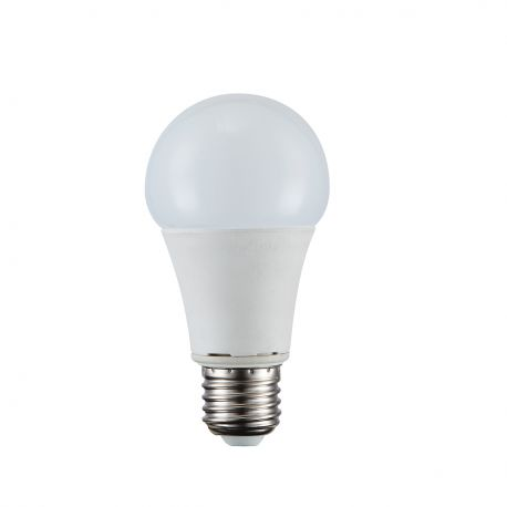 Becuri E27 - Bec LED E27 opal 9W 3000K
