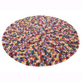 Covoare - Covor rotund Felt Ball 100cm