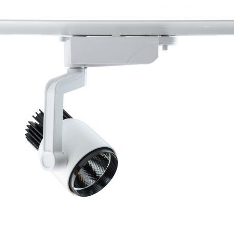 Spoturi, Proiectoare pe sina - Spot LED directionabil pe sina Galax III alb 10W