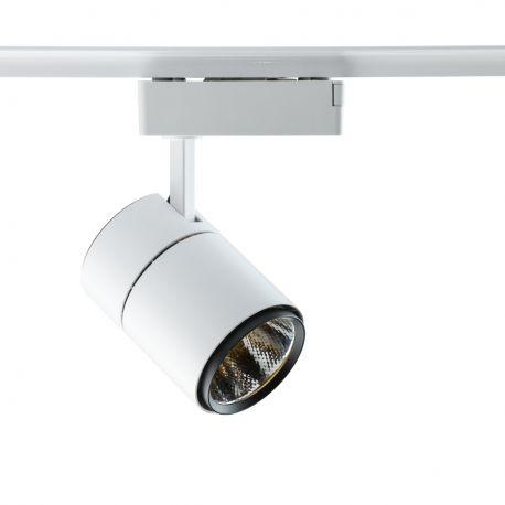Spoturi, Proiectoare pe sina - Spot LED directionabil pe sina Rondo I alb 20W