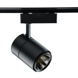 Spot LED directionabil pe sina Rondo I negru 20W