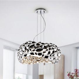Pendule, Lustre suspendate - Lustra design elegant Narisa crom, 47cm