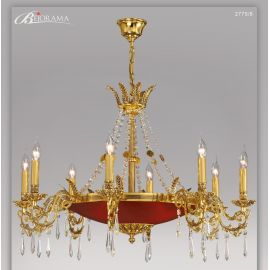 Candelabre, Lustre - Candelabru 8 brate cu cristale Asfour, design LUX VERSALLES