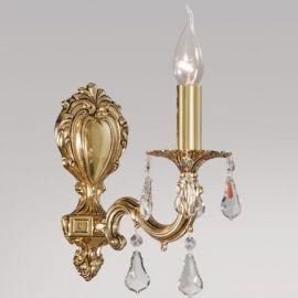 Aplice, corpuri de iluminat pentru pereti - Aplica cu 1 brat, cristale Asfour, design LUX, Monica