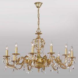 Candelabre, Lustre - Candelabru 12 brate, cristale Asfour, design LUX, Monica