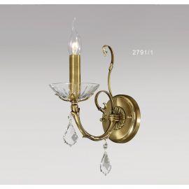 Aplice - Aplica 1 brat cu cristale Asfour, design LUX, Luna