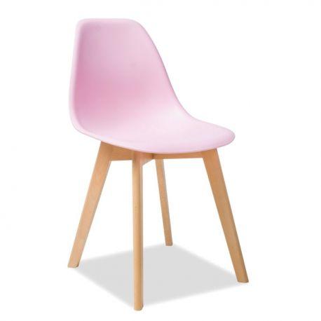 Scaune - Scaun modern MORIS fag/ roz