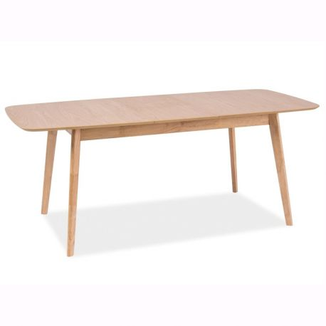 Mese extensibile - Masa extensibila design nordic FELICIO stejar, 150-190X90cm