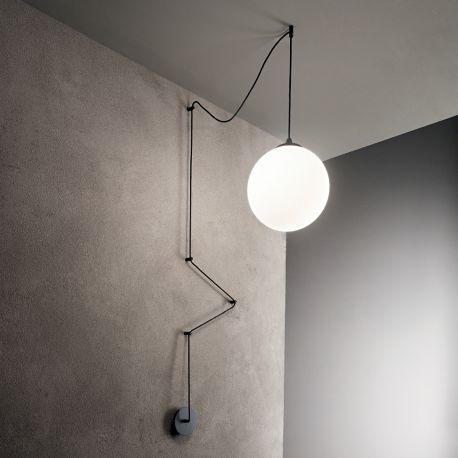 Pendule, Lustre suspendate - Pendul design modern BOA SP1 Nero