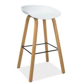 Scaun bar design modern STING, alb