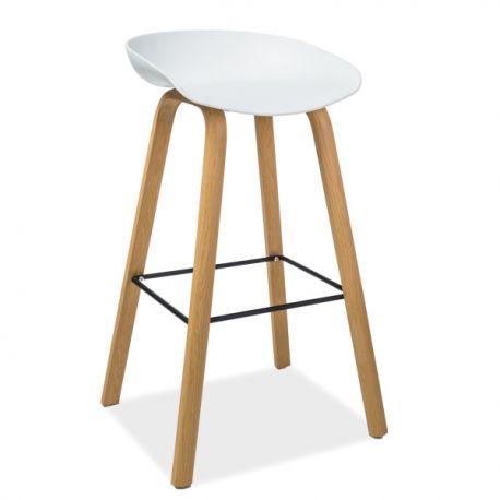 Scaune Bar - Scaun bar design modern STING, alb
