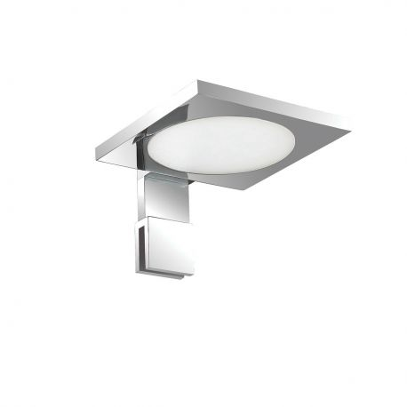 Iluminat pentru baie - Aplica LED oglinda Baie design modern TOY AP1 SQUARE