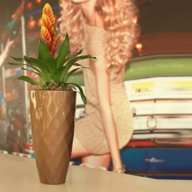 Vaza / Ghiveci de flori / plante / exterior / interior design modern premium VASES NANO PLANTER Ø18x36