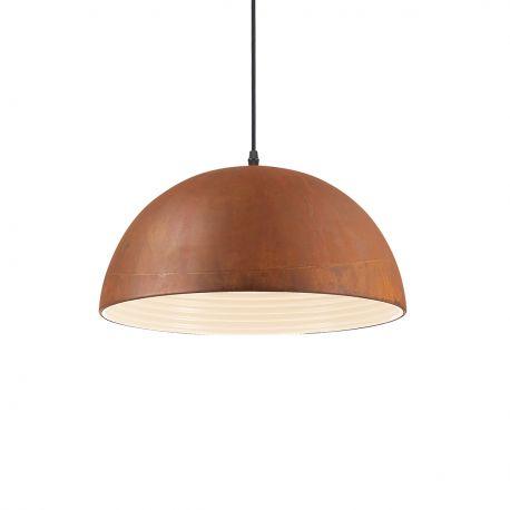 Pendule, Lustre suspendate - Lustra design deosebit cu efect de metal oxidat FOLK SP1 D40