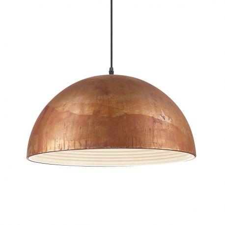 Pendule, Lustre suspendate - Lustra design deosebit cu efect de metal oxidat FOLK SP1 D50