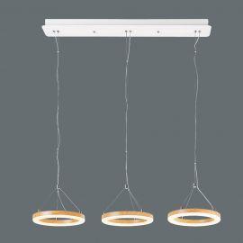 Pendule, Lustre suspendate - Lustra cu 3 Pendule LED design modern Audrey