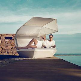Pat de zi cu parasolar design modern premium lounge FAZ