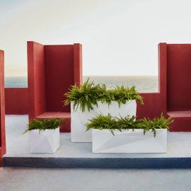 Ghivece - Ghiveci / Jardiniera plante design decorativ modern Faz CUBO PLANTER I