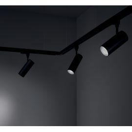 Spoturi, Proiectoare pe sina - Spot LED pe sina directionabil SMILE mini 15W 4000K CRI80 50° negru