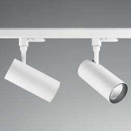 Spoturi, Proiectoare pe sina - Spot LED pe sina directionabil SMILE medium 20W 3000K CRI80 45° alb