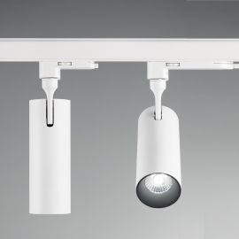 Spoturi, Proiectoare pe sina - Spot LED pe sina directionabil SMILE medium 20W 4000K CRI80 45° alb