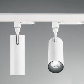 Spoturi, Proiectoare pe sina - Spot LED pe sina directionabil SMILE medium 20W 4000K CRI80 36° alb