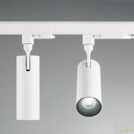 Spoturi, Proiectoare pe sina - Spot LED pe sina directionabil SMILE big 30W 4000K CRI80 45° alb