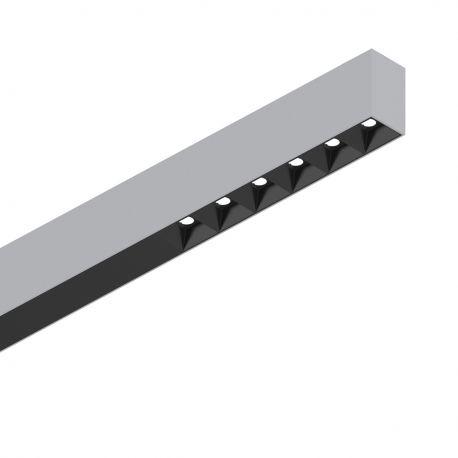 Lustre / Pendule spatii comerciale  - Lustra LED profesionala 30W 4000K FLUO ACCENT 1200 aluminiu