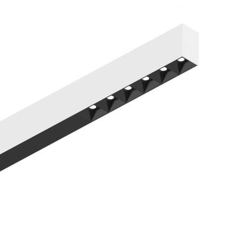 Lustre / Pendule spatii comerciale - Lustra LED profesionala 30W 4000K FLUO ACCENT 1200 alba