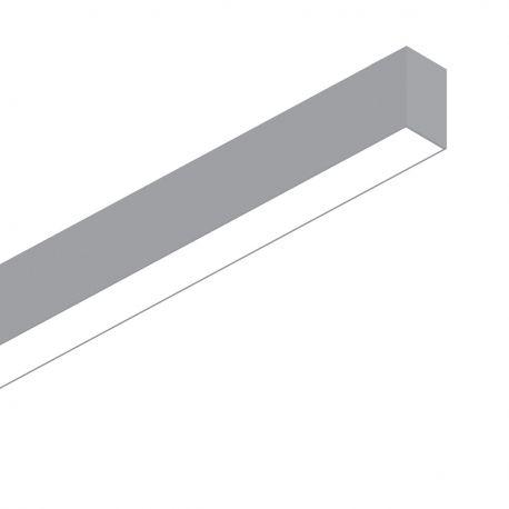 Lustre / Pendule spatii comerciale - Lustra LED profesionala 26W 4000K FLUO WIDE 1200 aluminiu