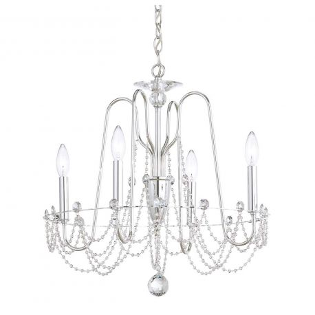 Lustre Cristal Schonbek - Lustra design LUX cu cristale Heritage, Esmery 4 brate