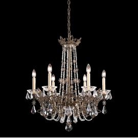 Lustre Cristal Schonbek - Candelabru 6 brate, design LUX, cristal Swarovski Florabella