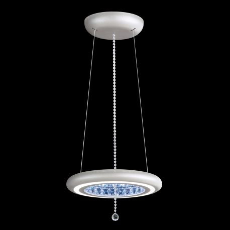 Lustre Cristal Swarovski - Lustra LUX, cristale Swarovski, iluminat LED Infinite Aura 38cm