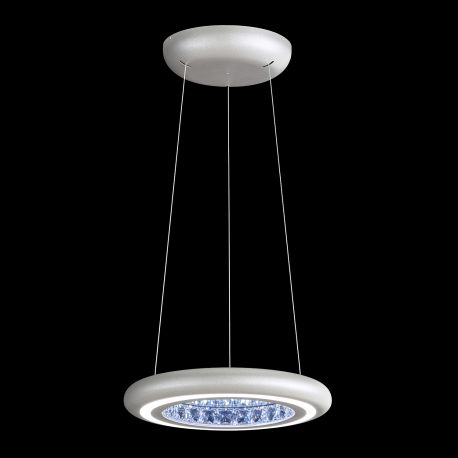 Lustre Cristal Swarovski - Lustra LUX, cristale Swarovski, iluminat LED, Infinite Aura 38cm
