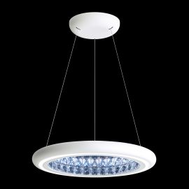 Lustre Cristal Swarovski - Lustra LUX, cristale Swarovski, iluminat LED, Infinite Aura 57cm