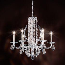 Candelabru 6 brate, design LUX cristal Heritage, Sarella