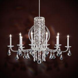 Lustre Cristal Schonbek - Candelabru 10 brate, design LUX cristal Heritage, Sarella