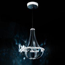Lustre Cristal Swarovski - Lustra LUX cristal Swarovski Crystal Empire 52cm, LED 3000K