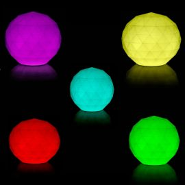CORP DE ILUMINAT LED RGB DECORATIV VASES LAMPS Ø30cm
