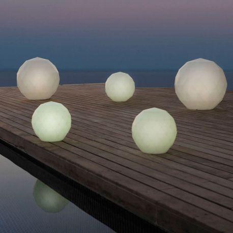 Iluminat exterior - CORP DE ILUMINAT LED DECORATIV VASES LAMPS Ø60cm