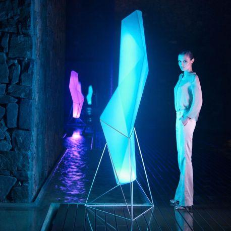 Iluminat exterior - CORP DE ILUMINAT LED RGB DECORATIV FAZ LAMP
