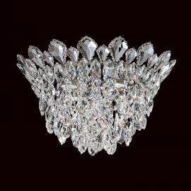 Lustra aplicata design LUX cristal Heritage/ Spectra, Trilliane 43cm, H-27cm