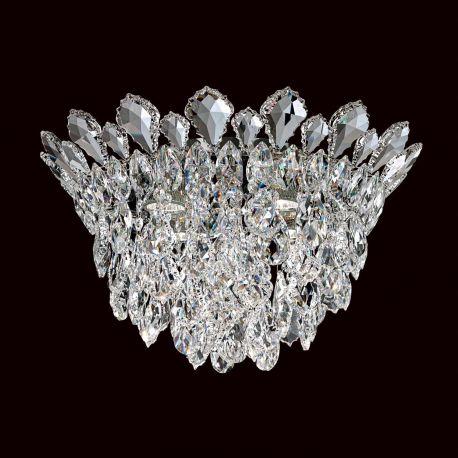 Plafoniere Cristal Schonbek - Lustra aplicata design LUX cristal Heritage/ Spectra, Trilliane 43cm, H-27cm