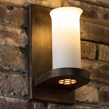 Aplice perete Fier Forjat - Aplica din fier forjat WL 3484-ST cu spot -downlight-
