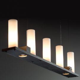Lustra din fier forjat cu 5 surse de lumina HL 2555