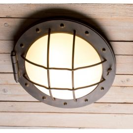 Aplice perete Fier Forjat - Aplica perete sau tavan design industrial din fier forjat DE 2627, 54cm