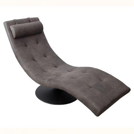 Canapele - Pat de zi tip sezlong Relaxo gri