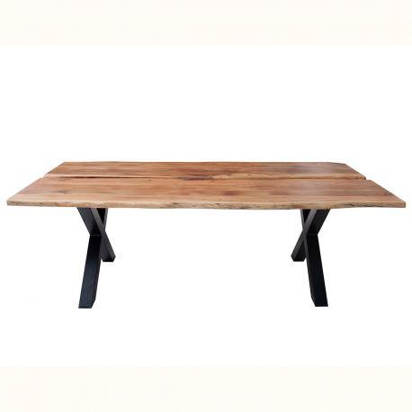 Mese dining - Masa design industrial Amazonas 200cm, salcam