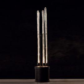 Veioze, Lampadare Fier Forjat - Lampa de podea din fier forjat design rustic SL 113