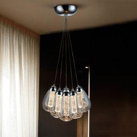Pendule, Lustre suspendate - Lustra LED design modern Taccia 6L